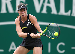 File photo dated 19-06-2018 of Johanna Konta during day two of the Nature Valley Classic at Edgbaston Priory, Birmingham.