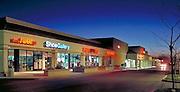 Manhattan Beach, CA, Boutiques,  Stores, Shopping Center, Mall, Dusk