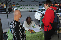 The Hyde Park Chamber of Commerce held is second Dinner Crawl this past Wednesday on 53rd Street. Participants were invited to sample various restaurants and food providers on 53rd Street.