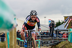 Sanne Cant (BEL), Women Elite, Cyclo-cross Superprestige #8 Middelkerke, Belgium, 14 February 2015, Photo by Paul Burgoine / PelotonPhotos.com