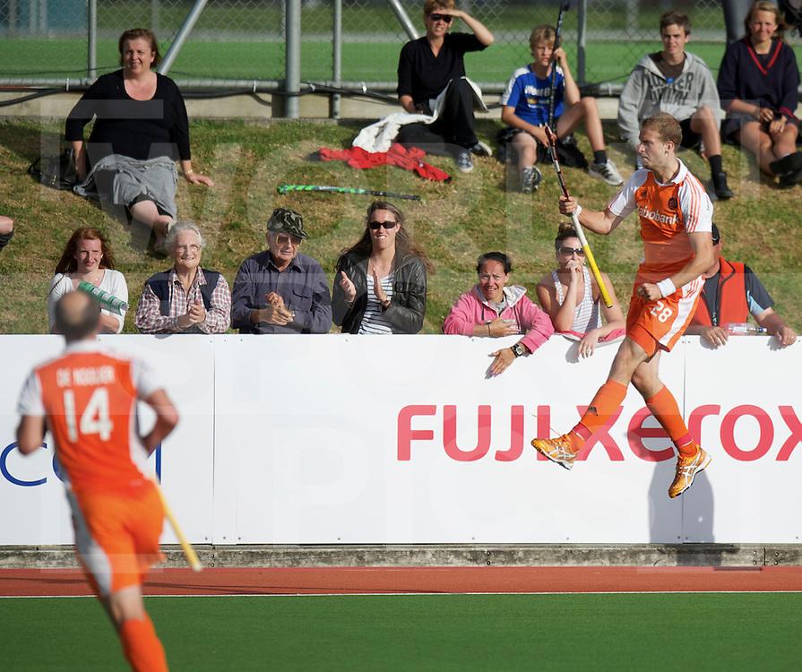 AUCKLAND - Champions Trophy men.Netherlands v New Zealand.foto: Celebrations Billy Bakker na de 1-0.FFU Press Agency  COPYRIGHT FRANK UIJLENBROEK..