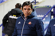 Sunderland Manager Chris Coleman during the EFL Sky Bet Championship match between Bolton Wanderers and Sunderland at the Macron Stadium, Bolton, England on 20 February 2018. Picture by Craig Galloway.