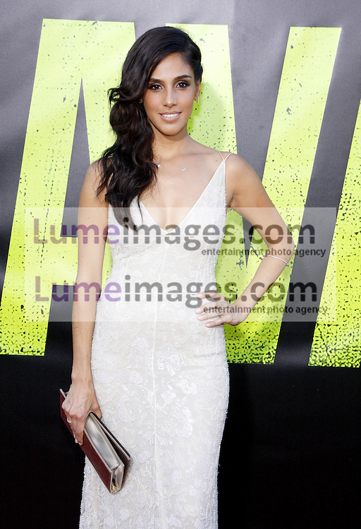 """Sandra Echeverria at the Los Angeles premiere of 'Savages"""" held at the Mann Village Theatre in Westwood on June 25, 2012. Credit: Lumeimages.com"""