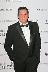 © Licensed to London News Pictures. 30/09/2014, UK. Tony Hadley, Soul Boys Of The Western World, Spandau Ballet: The Film - European film premiere, Royal Albert Hall, London UK, 30 September 2014. Photo credit : Richard Goldschmidt/Piqtured/LNP