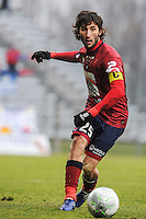 Anthony LIPPINI - 24.01.2015 - Clermont / Chateauroux  - 21eme journee de Ligue2<br />Photo : Jean Paul Thomas / Icon Sport
