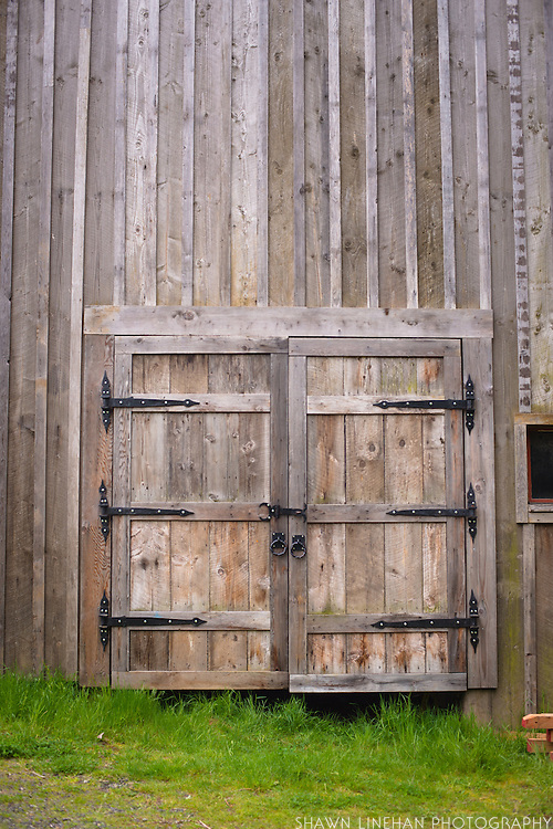 The forge barn made out of reclaimed wood.