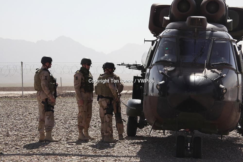 Dutch airforce in Uruzgan, Afghanistan