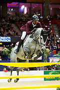 Sheik Ali bin Khaled al Thani - Eurocommerce California<br /> Rolex FEI World Cup Final 2013<br /> © DigiShots
