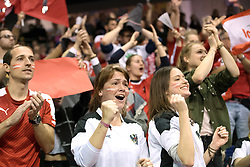 BERLIN - Indoor Hockey World Cup<br /> Final: Germany - Austria<br /> foto: Fans<br /> WORLDSPORTPICS COPYRIGHT FRANK UIJLENBROEK