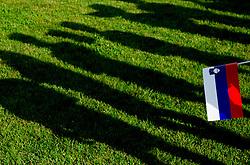 Lovilci zog na dobrodelni nogometni tekmi SD Bilje, katere izkupicek je namenjen Zavodu Lu ter Fundaciji Vrabcek upanja, on June 22, 2013 in Bilje pri Novi Gorici, Slovenia. (Photo by Vid Ponikvar / Sportida.com)