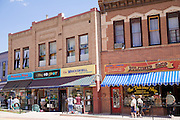 Window shopping in Manitou Springs, Colorado