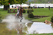 William Fox -Pitt riding Ludo FH during the International Horse Trials at Chatsworth, Bakewell, United Kingdom on 12 May 2018. Picture by George Franks.