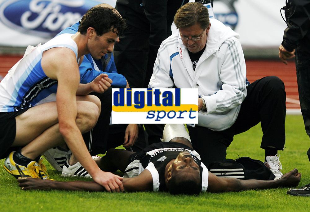 Friidrett, , 20. august  2010 , NM senior , hovedmesterskapet <br /> <br /> Urgie Buta , Haugesund med skade