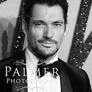 David Gandy at the Fashion Awards 2016