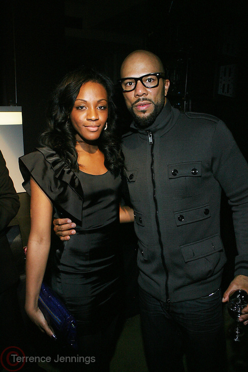 l to r: Dawn Richards and Common at the Common Celebration Capsule Line Launch with Softwear by Microsoft at Skylight Studios on December 3, 2008 in New York City..Microsoft celebrates the launch of a limited-edition capsule collection of SOFTWEAR by Microsoft graphic tees designed by Common. The t-shirt  designs. inspired by the 1980's when both Microsoft and and Hip Hop really came of age, include iconography that depicts shared principles of the technology company and the Hip Hop Star.