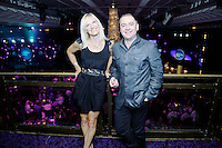 Jo Whiley and Gary Twelvetree