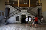Interno della centrale idroelettrica Taccani a Trezzo..Interior of hydroelectric plant Taccani in Trezzo