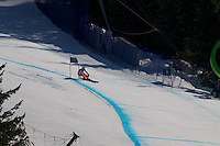 Day 8 of the Vancouver 2010 Winter Olympics at Super G at Whistler Creekside.
