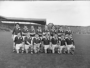 Neg no:.A786/43507-04366...17081958AISFCSF..17.08.1958, 08.17.1958, 17th September 1958...All Ireland Senior Football Championship - Semi-Final..Dublin.02-07.Galway.01-09...Galway Team