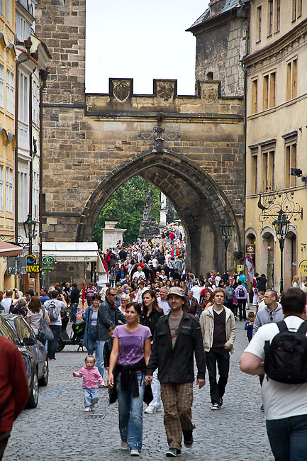the Karl?v most (Charles Bridge). Different views from Prague (Praha), the capital of the Czech Republic.  o (Photo: Alan Aubry)