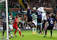19/08/15 UEFA CHAMPIONS LEAGUE PLAY-OFF 1ST LEG<br /> CELTIC V MALMO<br /> CELTIC PARK - GLASGOW<br /> Nir Bitton heads the ball home to double Celtic's lead.
