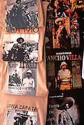 MEXICO, SAN MIGUEL ALLENDE t-shirts with Pancho Villa and Zapata