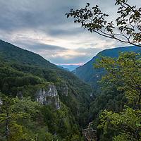 The gorge of Kumanitsa river