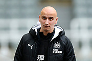 Jonjo Shelvey (#8) of Newcastle United arrives ahead of the Premier League match between Newcastle United and Crystal Palace at St. James's Park, Newcastle, England on 21 December 2019.