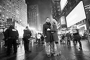 Ross and Sarah wedding on December 30, 2016 in New York City. (Photo by Ben Hider)