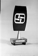 13/11/1964<br /> 11/13/1964<br /> 13 November 1964<br /> <br /> Photo of the Jacobs Television Award Trophy