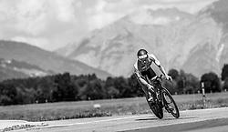 28.08.2016, Zell am See Kaprun, AUT, IRONMAN 70.3 Salzburg, im Bild Michael Ruenz (GER) // Michael Ruenz (GER) during IRONMAN 70.3, Salzburg at Zell am See- Kaprun, Austria on 2016/08/28. EXPA Pictures © 2016, PhotoCredit: EXPA/ JFK