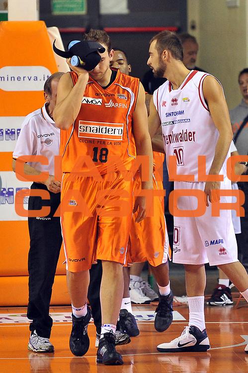 DESCRIZIONE : Udine Lega A2 2010-11 Snaidero Udine Trenkwalder Reggio Emilia<br /> GIOCATORE : Tommaso Rinaldi<br /> SQUADRA :  Snaidero Udine<br /> EVENTO : Campionato Lega A2 2010-2011<br /> GARA : Snaidero Udine Trenkwalder Reggio Emilia<br /> DATA : 12/11/2010<br /> CATEGORIA : Curiosita', <br /> SPORT : Pallacanestro <br /> AUTORE : Agenzia Ciamillo-Castoria/S.Ferraro<br /> Galleria : Lega Basket A2 2009-2010 <br /> Fotonotizia : Udine Lega A2 2010-11 Snaidero Udine Trenkwalder Reggio Emilia<br /> Predefinita :