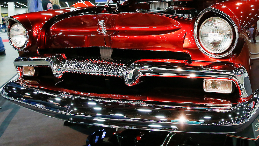 during the 63rd annual Autorama in Detroit. (Rick Osentoski)