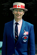 Henley - UK. Mike SPRACKLEN, Canadian Men's Chief coach with an crew entered for the Grand Challenge cup 1991 Henley Royal Regatta.[Mandatory Credit Peter Spurrier/Intersport Images] ...........