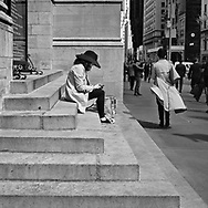 A moment on Fifth Avenue.