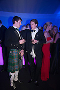 GREGOR KNOX; LUDVIG SVENNERSTAL, Quorn Hunt Ball, Stanford Hall. Standford on Soar. 25 January 2014