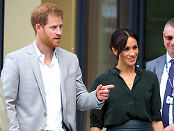 The Duke and Duchess of Sussex make their first trip to their namesake county to open the University of Chichester's new Engineering and Technology Park<br />