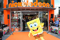 Sponge Bob Square Pants, Nickelodeon Store opening, Leicester Square, London UK, 29 May 2015, Photo by Richard Goldschmidt