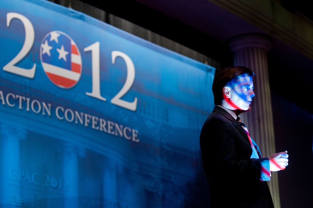 BOB MCDONNELL, Governor of Virginia speaks at the annual Conservative Political Action Conference (CPAC) in Washington, D.C. on Friday. CPAC, which began in 1973, attracts more than 10,000 people and The American Conservative Union, which runs it, announced it expected 1,200 members of the media.