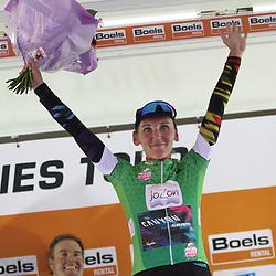 01-09-2017: Wielrennen: Boels Ladies Tour: Weert: Lisa Brennauer won de 4e etappe in de Boels Ladies Tour.