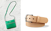 Ryan Dyer Photography Fashion and Beauty shot of a belt from Minneapolis based leather works and Kate Spade handbag