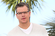 "Matt Damon attends ""Behind The Candelabra"" photo call  during the 66th Annual Cannes Film Festival at the Palais des Festivals on May 21, 2013 in Cannes, France.."