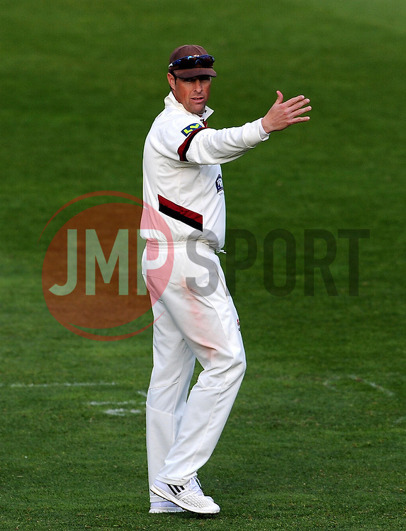 Somerset's Marcus Trescothick - Photo mandatory by-line: Harry Trump/JMP - Mobile: 07966 386802 - 12/04/15 - SPORT - CRICKET - LVCC County Championship - Day 1 - Somerset v Durham - The County Ground, Taunton, England.