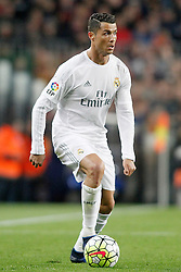 02.04.2016, Camp Nou, Barcelona, ESP, Primera Division, FC Barcelona vs Real Madrid, 31. Runde, im Bild Real Madrid's Cristiano Ronaldo // during the Spanish Primera Division 31th round match between Athletic Club and Real Madrid at the Camp Nou in Barcelona, Spain on 2016/04/02. EXPA Pictures © 2016, PhotoCredit: EXPA/ Alterphotos/ Acero<br /> <br /> *****ATTENTION - OUT of ESP, SUI*****