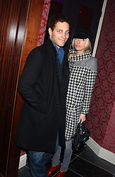 LORD FREDERICK WINDSOR and the HON.SOPHIA HESKETH at the launch party of Purple Lounge - a new poker web site, held at The Cuckoo Club, Swallow Street, London W1 on 30th November 2005.<br /><br />NON EXCLUSIVE - WORLD RIGHTS