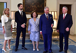16.03.2016, Belgrade, SRB, der Britische Kronprinz Charles und seine Frau Camilla besuchen Serbien, im Bild His Royal highness Prince of Wales during his visit to Serbia, met in the Royal Palace with the crown prince Alexander Karadjordjevic and his wife Crown Princess Katherine. EXPA Pictures © 2016, PhotoCredit: EXPA/ Pixsell/ Srdjan Ilic<br /> <br /> *****ATTENTION - for AUT, SLO, SUI, SWE, ITA, FRA only*****