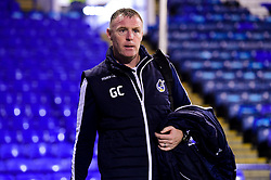 Bristol Rovers manager Graham Coughlan arrives at Fratton Park prior to kick off - Mandatory by-line: Ryan Hiscott/JMP - 19/02/2019 - FOOTBALL - Fratton Park - Portsmouth, England - Portsmouth v Bristol Rovers - Sky Bet League One