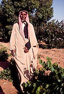 Shaikh Fraywan Shaalan of the Ruwallah tribe has settled on this farm at Zalum.