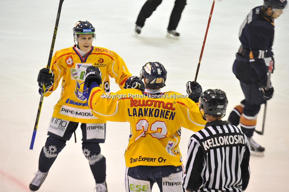 Mestis-ottelu Kiekko-Vantaa - Jukurit pelattiin Tikkurilassa 20.9.2014.