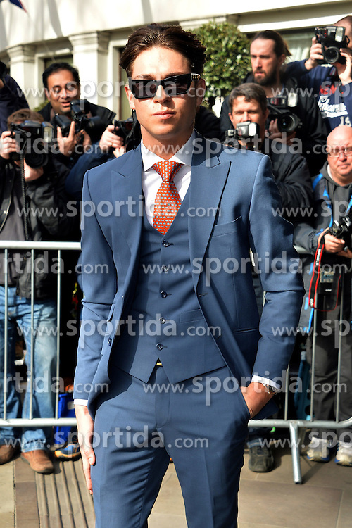 Joey Essex at The TRIC Awards (Television and Radio Industries Club) at the Grosvenor House, Park Lane, London, England. 10th March 2015. EXPA Pictures &copy; 2015, PhotoCredit: EXPA/ Photoshot/ James Warren<br /> <br /> *****ATTENTION - for AUT, SLO, CRO, SRB, BIH, MAZ only*****